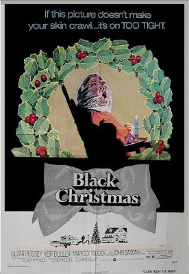 Black Christmas Poster