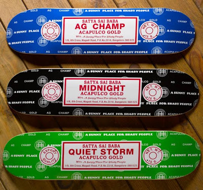 Acapulco Gold Incense Skateboard Decks