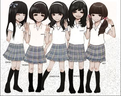 shinee girls Shinee+girls+cute
