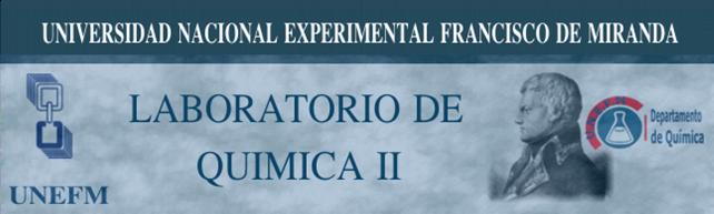 LABORATORIO DE QUIMICA II