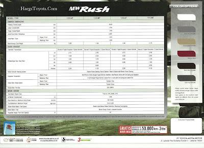 brosur toyota rush 2011