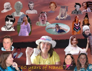 Click here for the full size image of 'The twenty-one Faces of Nanci', a DigitalMediaMagik.com collage I created to honor Nanci on her 60th birthday