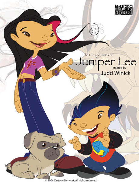 Life and times of juniper lee porn