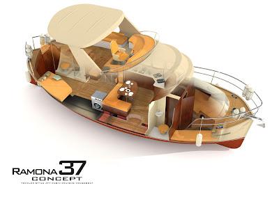 projektowanie i budowa jachtów: Jacht Ramona 37 by Sławomir Kot
