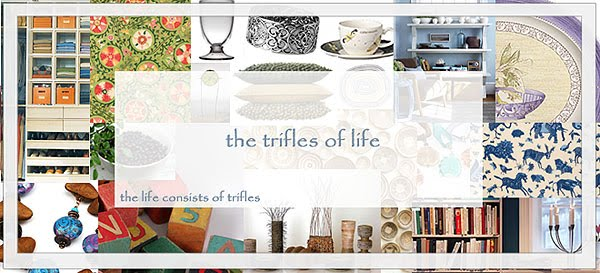 the trifles of life