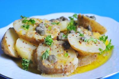 Sugar & Everything Nice: Warm Potato, Dill, Caper & Mustard Salad