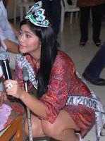paha mulus Qory Sandioriva Putri indonesia 2009