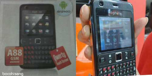 Spesifikasi Harga TiPhone A88 Android QWERTY