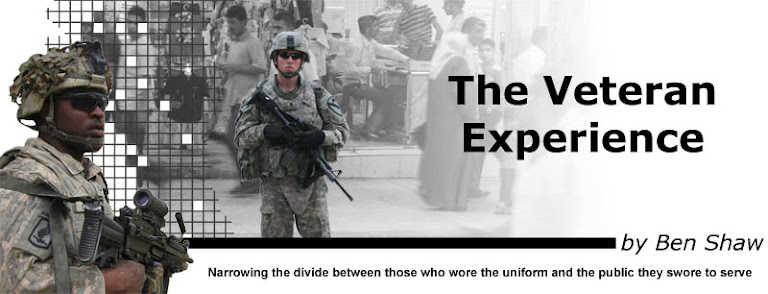 The Veteran Experience - by Ben Shaw