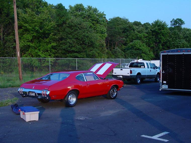 Drag racing in Virginia