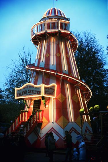 Winterwonderland à Hyde Park - Londres