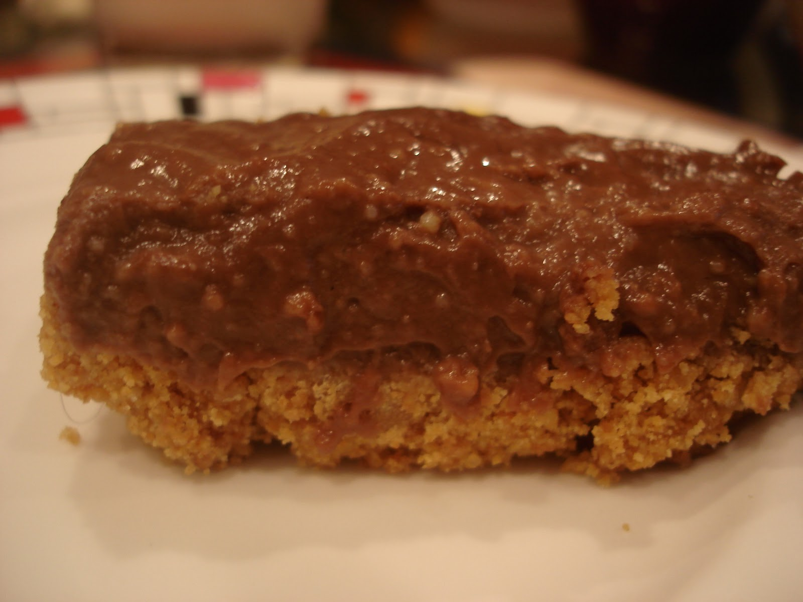 ... : Sasha's Kitchen: Chocolate Pudding Bars from the New Baked Cookbook