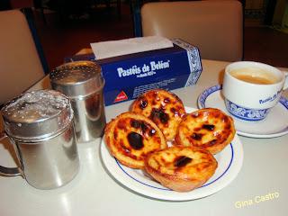 Doces Portugueses - pastéis de belém