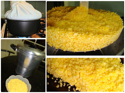 Cuscuz de farinha de milho