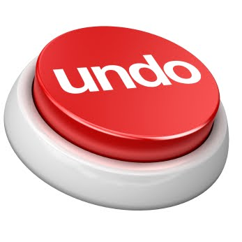 undo button stray click corrected timer 5 minutes undo button
