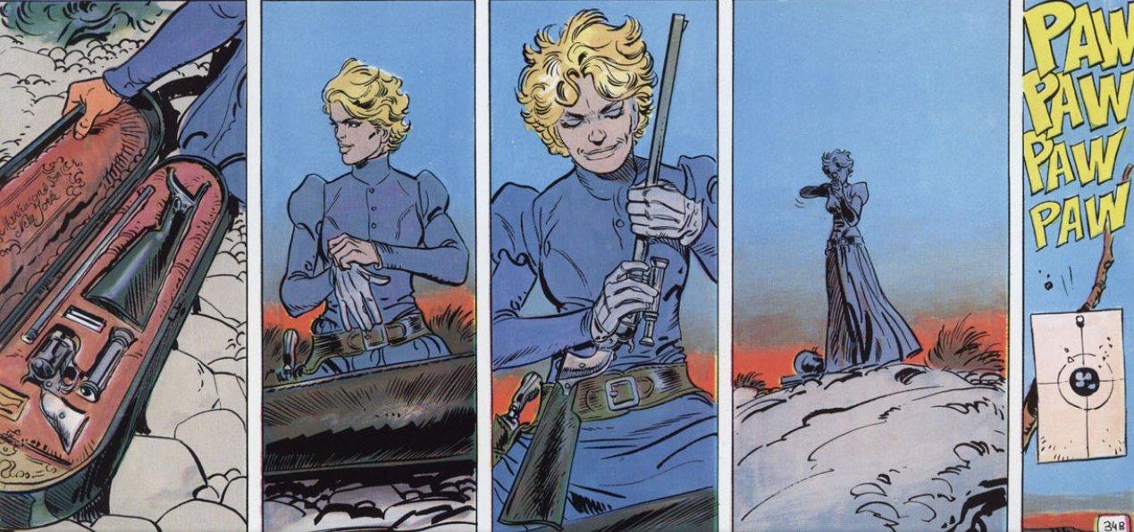 Enciclopedia visual del teniente blueberry angel face for Teniente blueberry