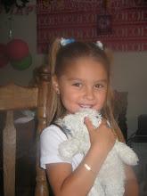 Onze oudste kleindochter Jenna