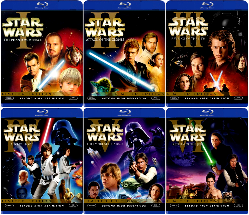Star wars blu ray sets to be released in september