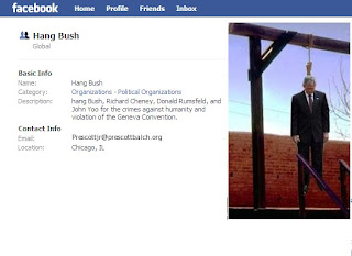 Facebook: Hang Bush