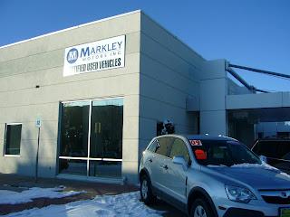 Markley Motors Corner Saturn Authorized Repair Facility