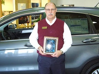 Markley Motors Corner Honda Gold Master Recognition
