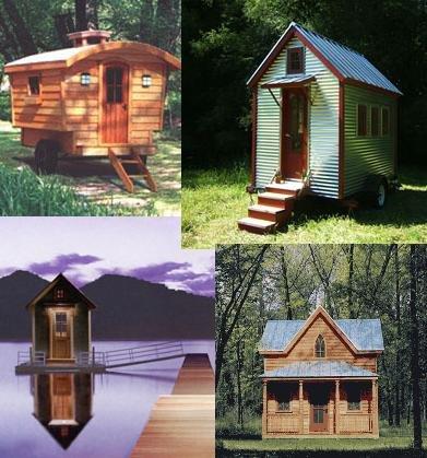 Smashed Frog: Tiny Houses