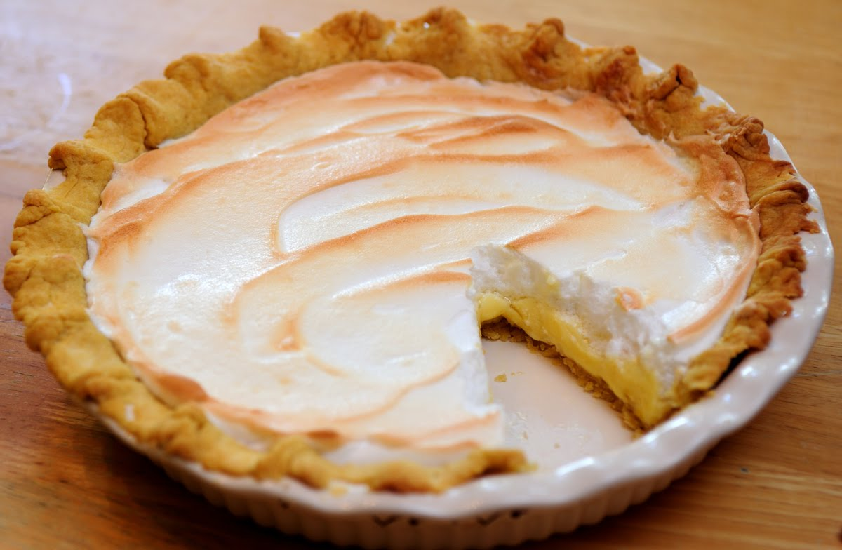 Cooking With Libby: Homemade Lemon Meringue Pie