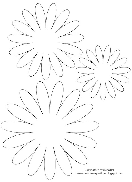 Printable Daisy Flower Template Images amp Pictures Becuo
