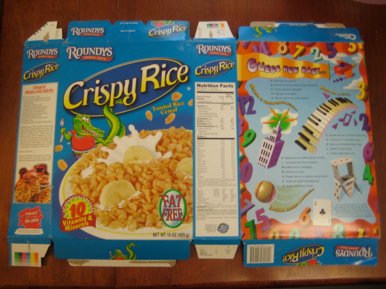 ID Mommy Mommy Project DIY Recycled Cereal Box Puzzle