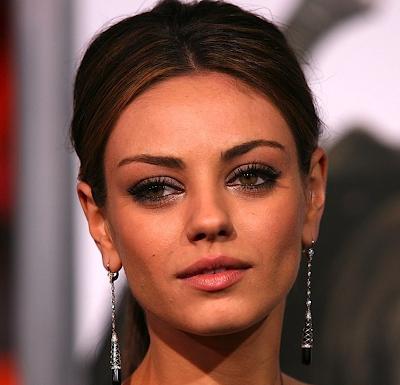 mila kunis makeup. Mila Kunis Makes A Makeup