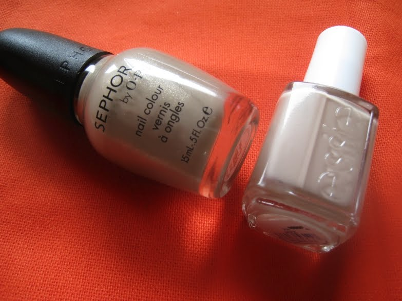 Sephora by OPI Under My Trench Coat & Essie Jazz | The Non-Blonde