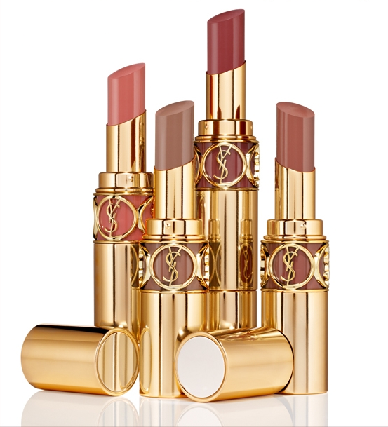 YSL Rouge Volupte in Nude Beige - Inthefrow