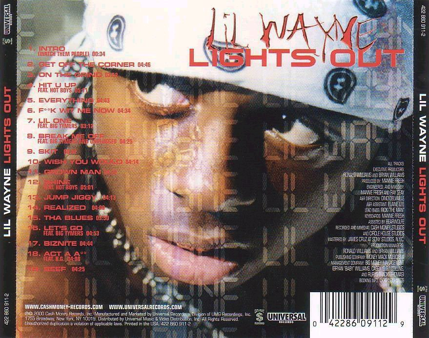 Lil Wayne - Lights Out (2000)