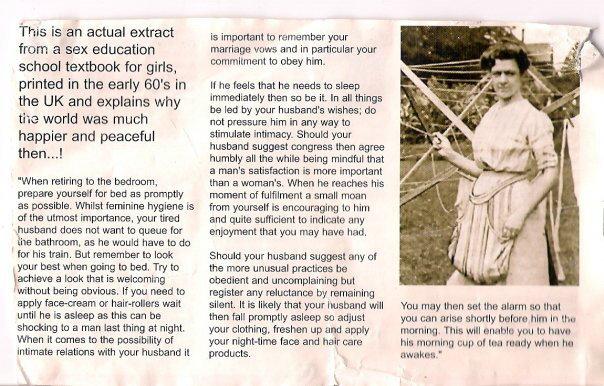 1950 s girl sex education