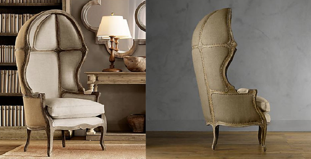 Luxury studies the history of luxury for Restoration hardware furniture manufacturer