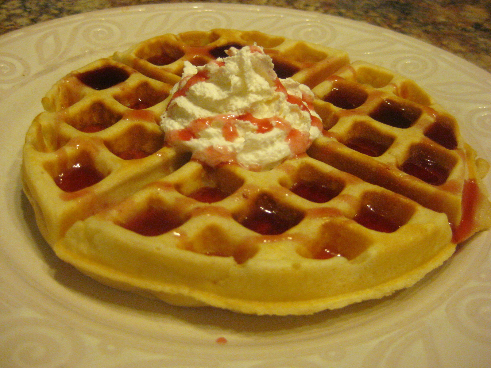 The Fab Five and Food: Light n Krispy Belgian Waffles