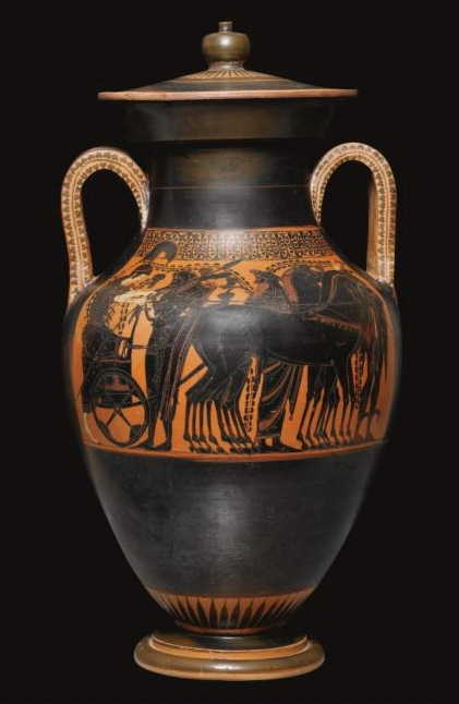 an overview of the history and production of greek vases Pottery production in ancient greece definition & overview ancient greek comedy: ancient greek pottery: types, history & facts related study materials.