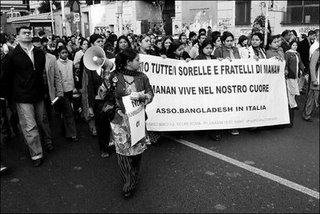11 APRILE  2007. SIAMO TUTTI FRATELLI E SORELLE DI MANNAN. Foto di Nino R.