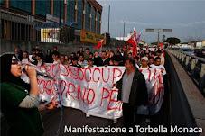 CONTRO IL RAZZISMO : manifestazione a Tor Bella Monaca
