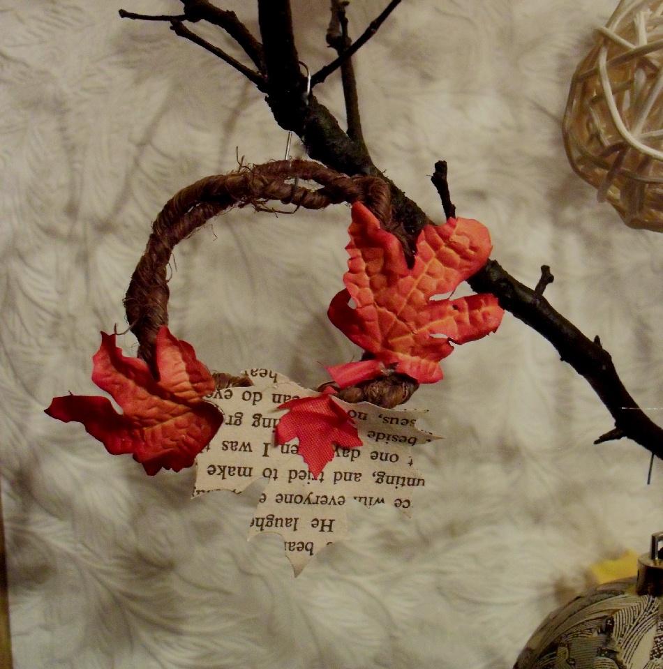Grapevine Thankful Wreath Craft