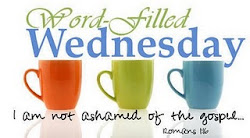 I participate in Word Filled Wednesday!