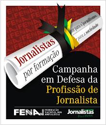 Jornalista em defesa do diploma