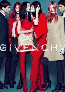 Lea T modelo transex da Givenchy