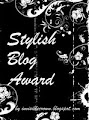 STYLISH BLOG AWARD