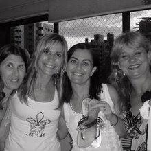 Carmem Pigato, Liza Mognon, Denise Rochadel e Leni Pozzebon