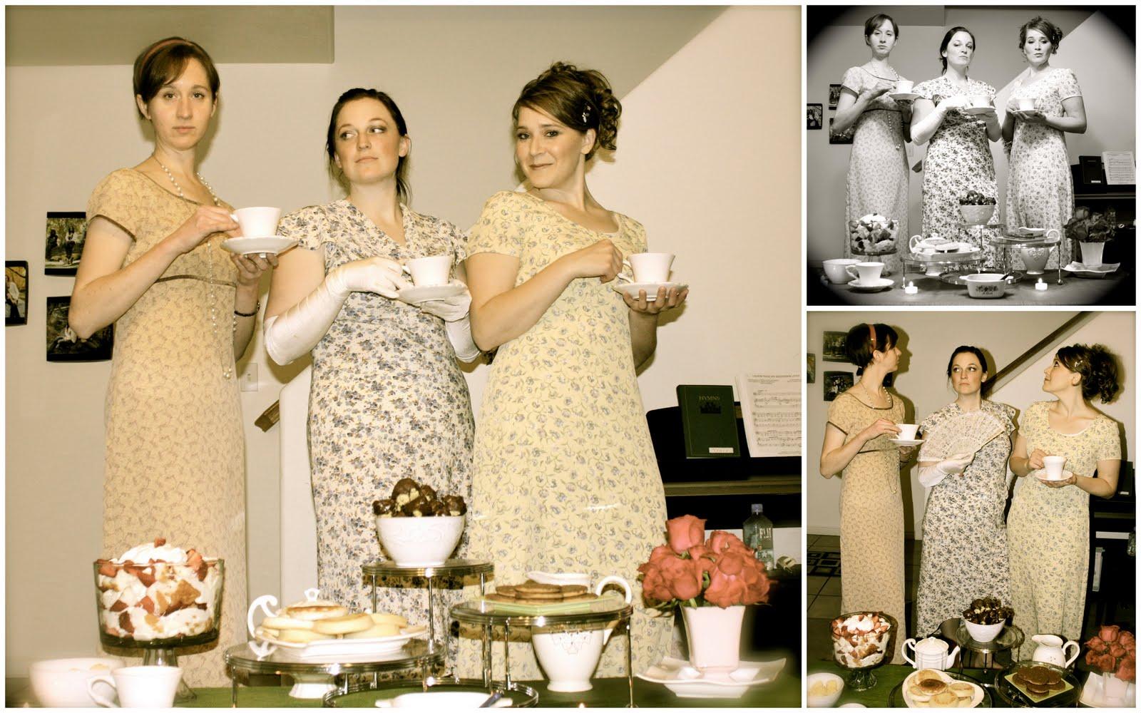 life of tracy pride and prejudice tea party. Black Bedroom Furniture Sets. Home Design Ideas