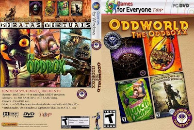 Lançamentos 2012 Downloads Baixar Oddworld: The Oddboxx   PC Game