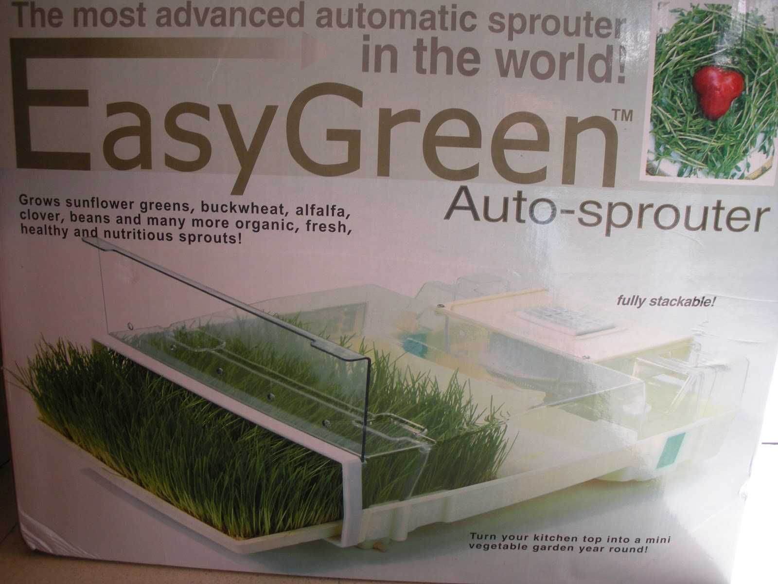 Kitchen Garden Sprouter The Easy Green Auto Sprouter Machine Raw Loulou