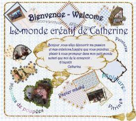 Le monde créatif de Catherine