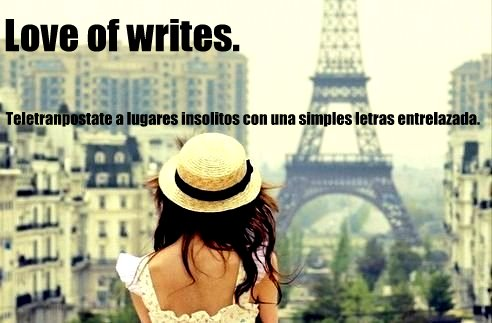 Love of writes